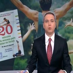Dr Cánovas en el informativo de la noche de Antena 3